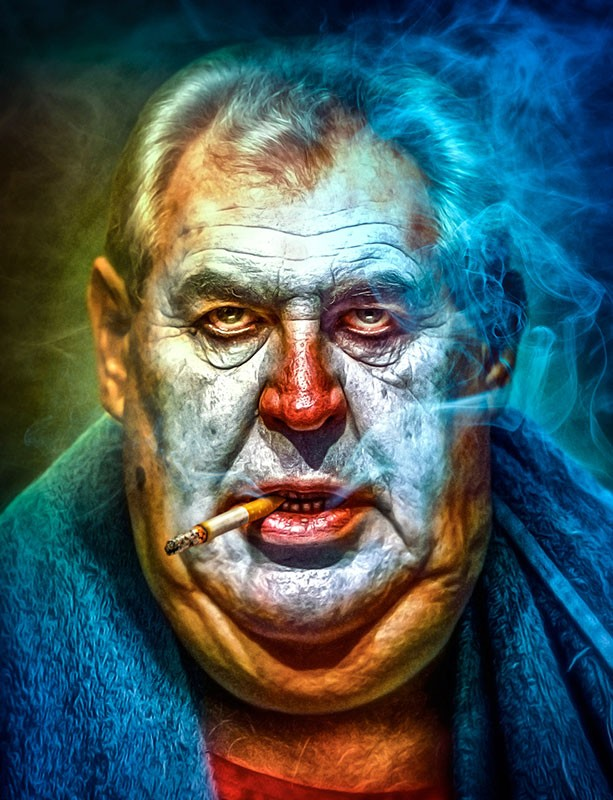 Ignác Říha | Now you will pay for IT | Reflex magazine's front cover depicts Milos Zeman as IT -character from eponymous horror movie.  The many spiteful comments made by Zeman are truly scary and belong more to horror movies than politics. Author Ignac Riha