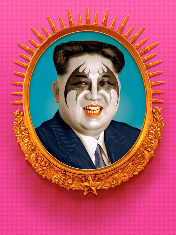 Ignác Říha | Darling Kim (Philanthroshit Kim) | North Korean democrat and do-gooder. The Bogeyman of the West. Son of the greatest of greats Kim Jong Il and grandson of semi-god Kim-Ir-Sen. Fridge magnet with his image to repel the hungry.